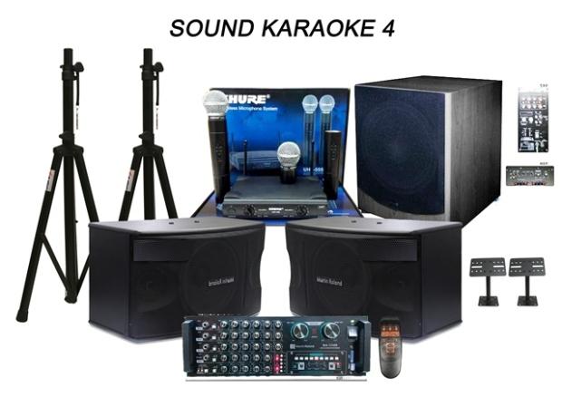 SOUND KARAOKE 4