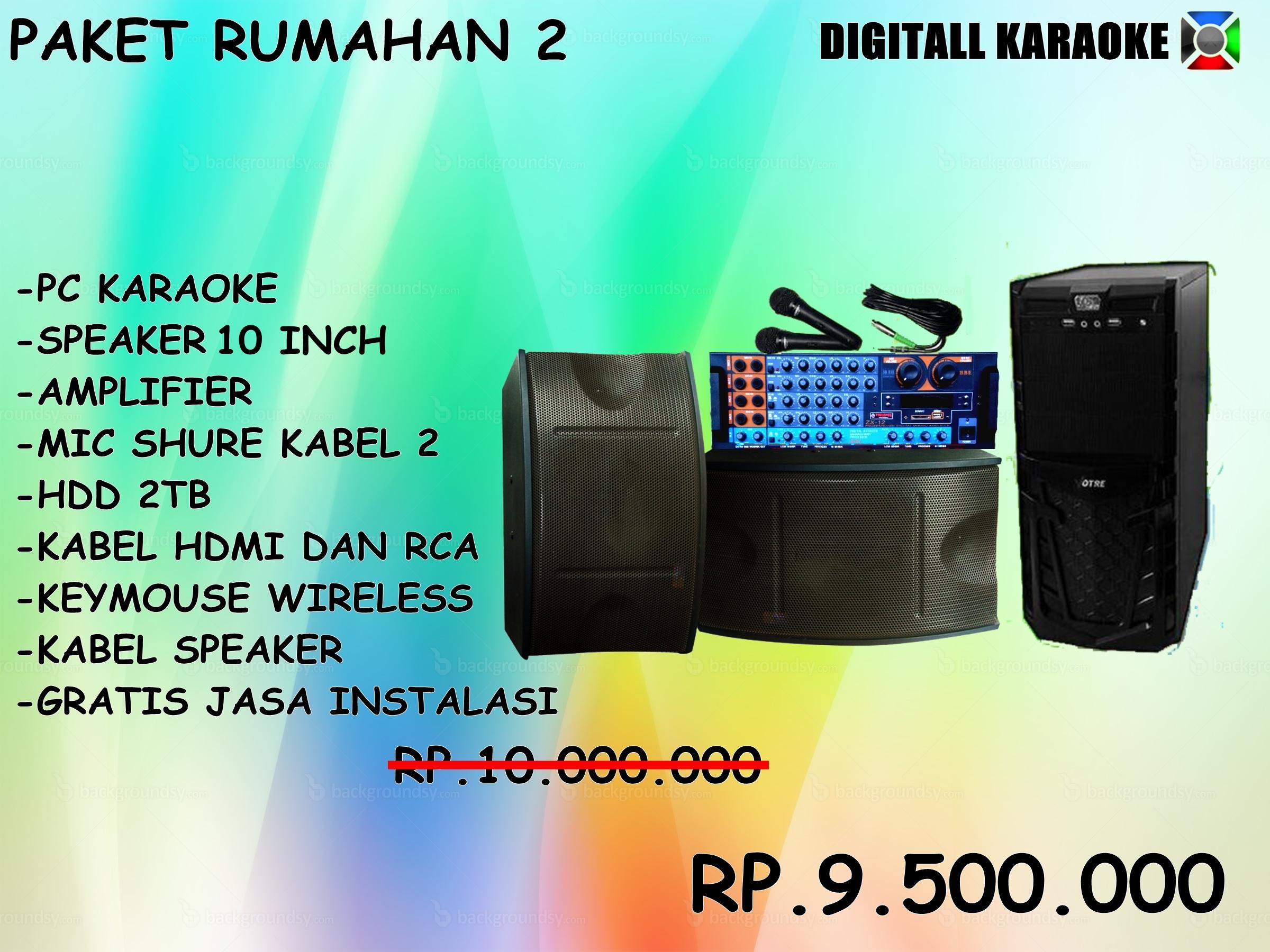 Jual Komputer Laptop Karaoke Home Surabaya Gresik Sidoarjo Paket Dvd Instal Ulang Sidoharjo Lamongan