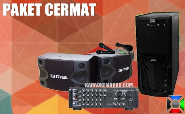 -PC KARAOKE -SPEAKER BMB 8 INCH -AMPLIFIER BMB DA-1600 -MIC SHURE KABEL 2 -HARDISK 2 TB -KABEL HDMI DAN RCA -KEYMOUSE WIRELESS -KABEL SPEAKER